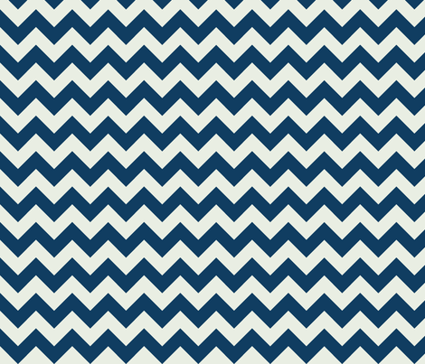 Two Chevrons Make A Right: Navy & Gray fabric by frontdoor on Spoonflower - custom fabric