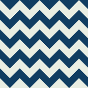 Two Chevrons Make A Right: Navy & Gray