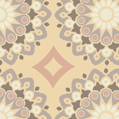 Modern Mandala - Vintage Gold
