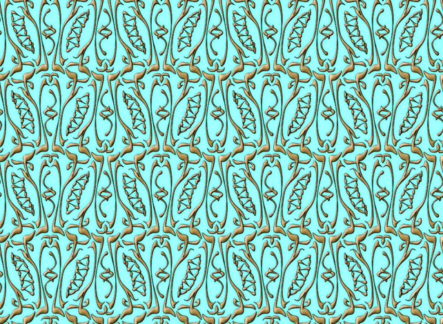 glyphic2 fabric by glimmericks on Spoonflower - custom fabric