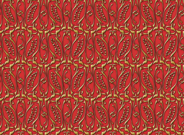 glyphic3 fabric by glimmericks on Spoonflower - custom fabric