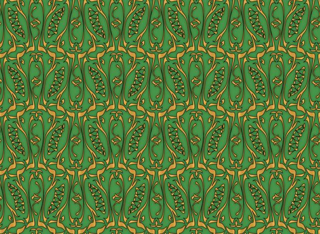 glyphic5 fabric by glimmericks on Spoonflower - custom fabric