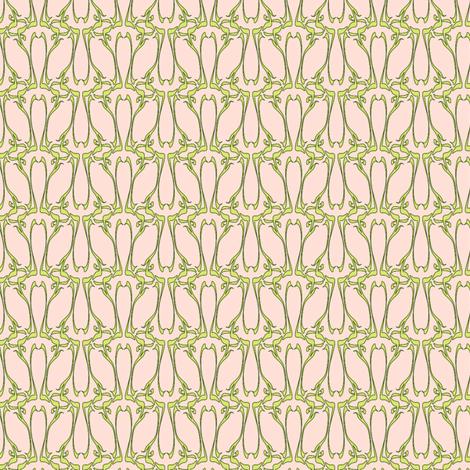 nouveau dawn fabric by glimmericks on Spoonflower - custom fabric