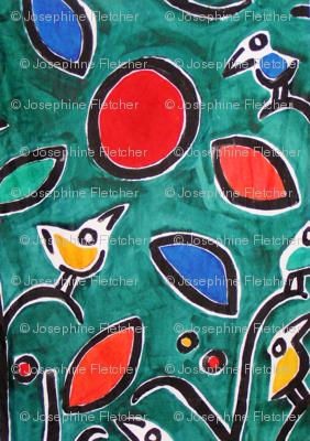 PICT0181_Sea of Birds in a Garden