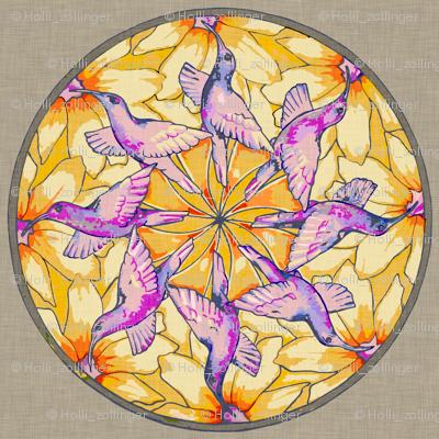 hummingbird_mandala_linen