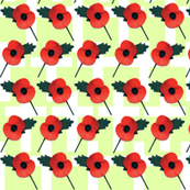 Poppy Parade Green