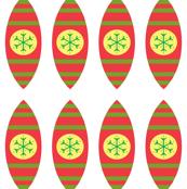 Snowflake Globes- Brights