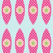 Retro Star Globes- Pink
