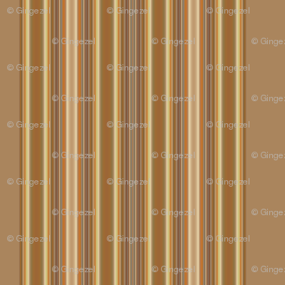 Wide Brown and Beige Stripe © Gingezel™ 2012