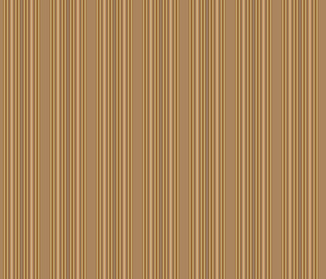 Wide Brown and Beige Stripe © Gingezel™ 2012 fabric by gingezel on Spoonflower - custom fabric