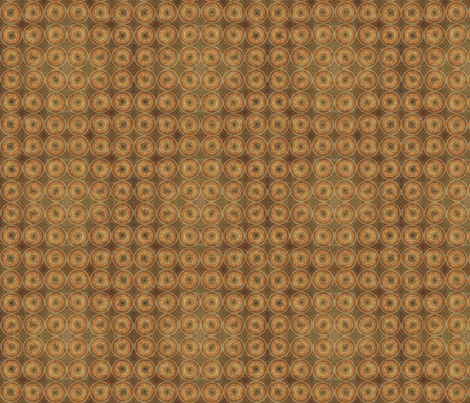 Textured Concentric Ring Dots © Gingezel 2012 fabric by gingezel on Spoonflower - custom fabric