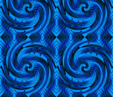 blue_vortex4 fabric by esthers on Spoonflower - custom fabric