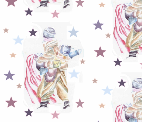Stars for Soldiers fabric by suzyhager on Spoonflower - custom fabric