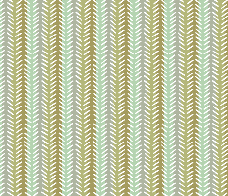 HERRINGBONE in Natural fabric by hitomikimura on Spoonflower - custom fabric
