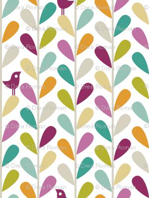 Animal Impressions Collection - Bird Vine
