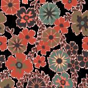 Retro Floral Large