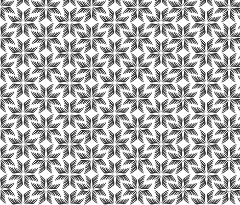 Feather Lite fabric by andreaatdesign on Spoonflower - custom fabric