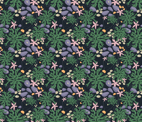 In the Tide Pool (small) fabric by spugnardidesign on Spoonflower - custom fabric