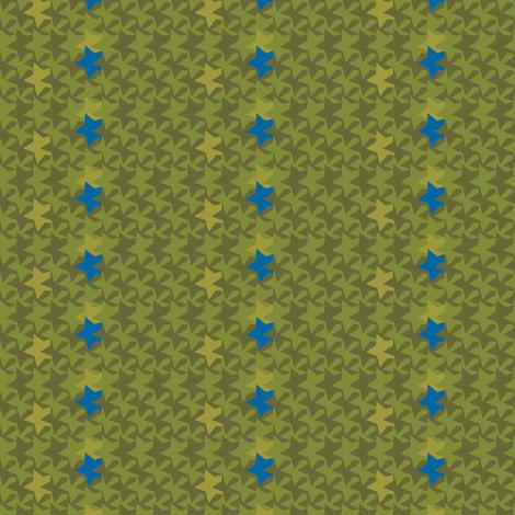 star_camouflage fabric by natasha_k_ on Spoonflower - custom fabric