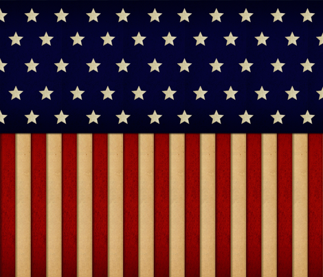 American Glory fabric by jbhorsewriter7 on Spoonflower - custom fabric