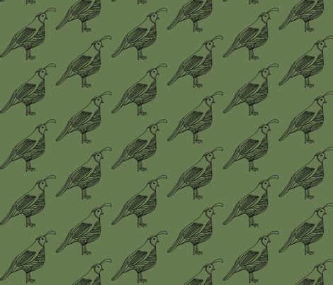 quail1 fabric by luluhoo on Spoonflower - custom fabric