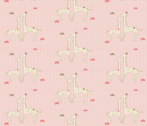 giraffe fabric by kato_kato on Spoonflower - custom fabric