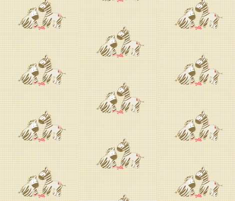 kato zebras fabric by kato_kato on Spoonflower - custom fabric