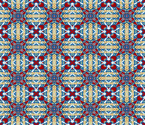 Military Flags Warp #1 fabric by artist4god on Spoonflower - custom fabric