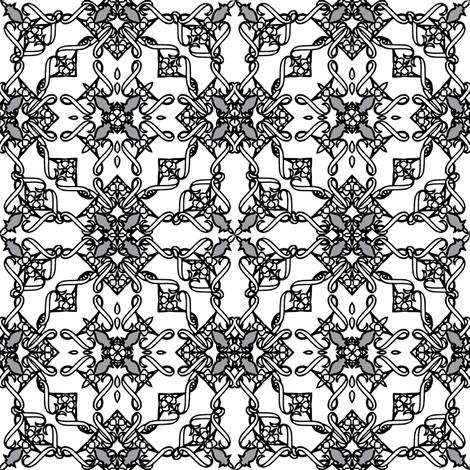 TileOne4-ch-ch fabric by grannynan on Spoonflower - custom fabric