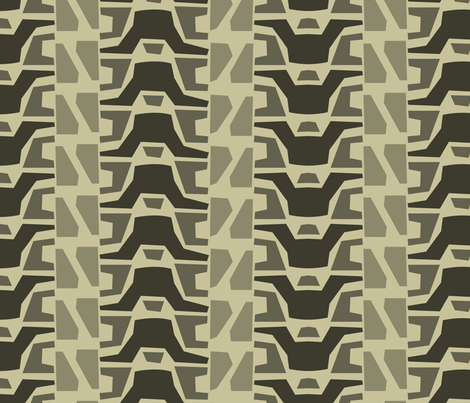 tank treads fabric by aperiodic on Spoonflower - custom fabric