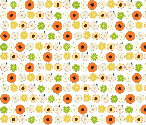 Fun Fruit  fabric by icarpediem on Spoonflower - custom fabric