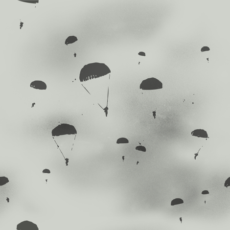 The paratroopers  fabric by theboerwar on Spoonflower - custom fabric