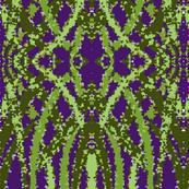 abstract water iris stems