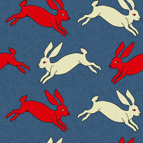 jackrabbit_linen fabric by holli_zollinger on Spoonflower - custom fabric