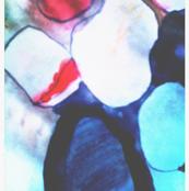 watercolor rocks - bold