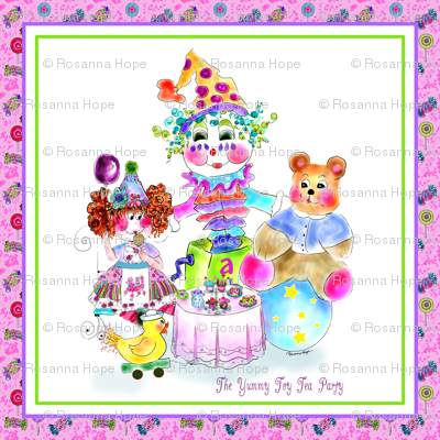 The Yummy Toy Tea Party