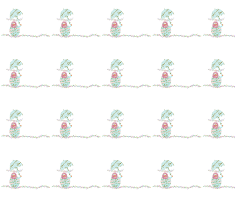Circus Babushka fabric by karenharveycox on Spoonflower - custom fabric