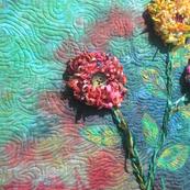 Triple Fringe Flowers