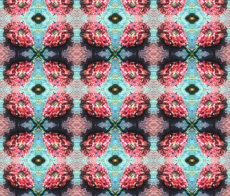 Fringe Flower fabric by persimondreams on Spoonflower - custom fabric