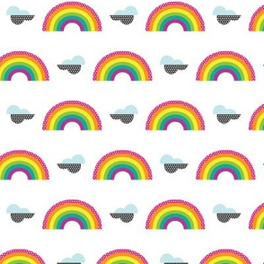 Mini Rainbow Stickers
