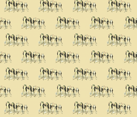 The Gentle Frog fabric by icarpediem on Spoonflower - custom fabric