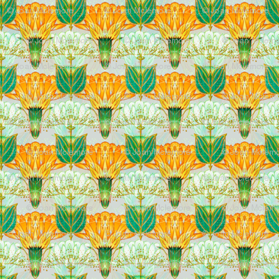 Nouveau Thistle Orange