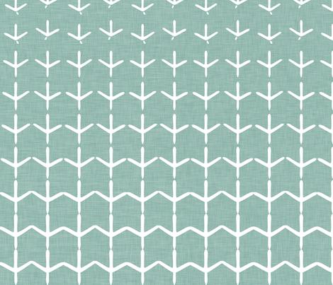 Animal Impressions Collection - Bird Tracks fabric by ttoz on Spoonflower - custom fabric