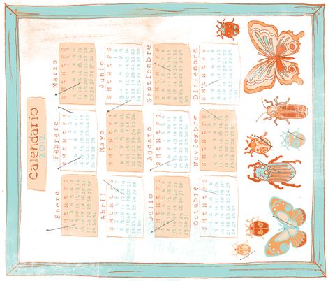 calendar_Contest_3 fabric by siplbunny on Spoonflower - custom fabric