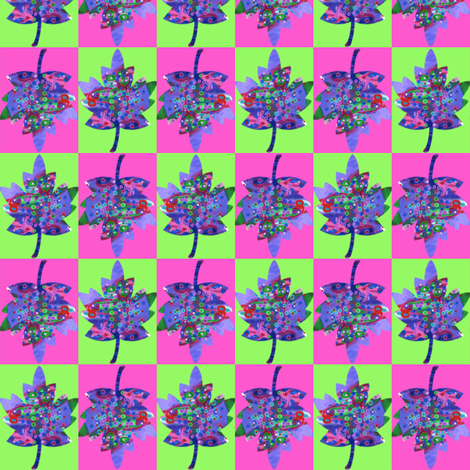 Autumn Leaves 5 fabric by dovetail_designs on Spoonflower - custom fabric