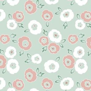 Rodney - Pastel Stylized Floral by WRKDesigns