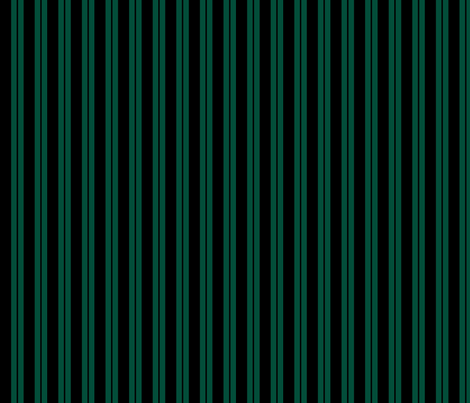 Mansion Maid Green Stripe Pattern fabric by loosetoon on Spoonflower - custom fabric