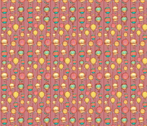 Vintage Circus  fabric by icarpediem on Spoonflower - custom fabric