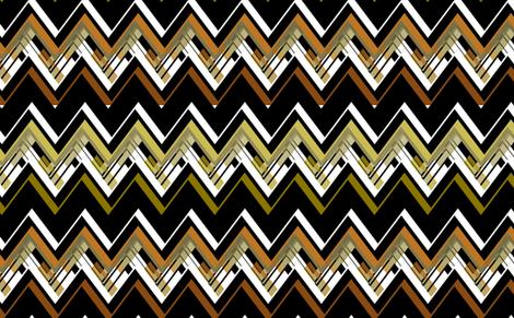 Zig Zag Mod fabric by joanmclemore on Spoonflower - custom fabric