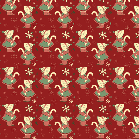 Oh, Holiday fabric by eppiepeppercorn on Spoonflower - custom fabric